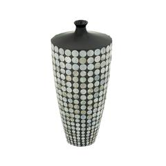 Lovely Ceramic Lacquer Inlay Vase