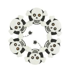 Benzara Scary Metal Led Skull Wall Décor