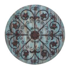 Wall Decor Timeless And Elegant Design In Round Shape
