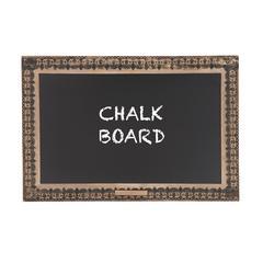 Impressive Contemporary Styled Wood Blackboard