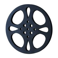 Metal Movie Reel Black-Gray