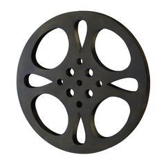 Benzara Metal Movie Reel 18 Inch Diameter