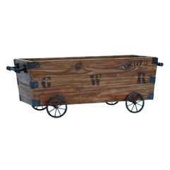 Wood Cart A Wood Storage Crate