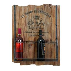 Benzara Wood Wine Rack An Elegant Design Of Wine Rack