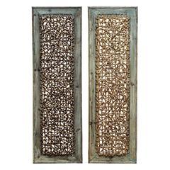 Benzara Wood Wall Decor 2 Asst For Portable Wall Decor