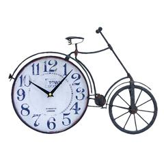 "Metal Bicycle Clock 17""W, 12""H"
