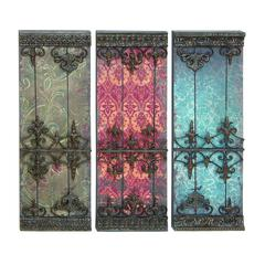"Metal Plaque 3 Assorted 34""H, 12""W Wall Decor"