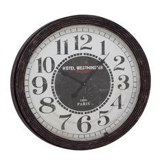 Classic Wood Wall Clock
