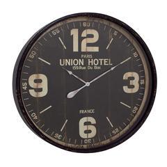 Benzara Exquisitely Designed Metal Wall Clock