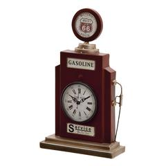 Benzara Splendid Metal Table Clock