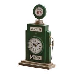 Benzara Unique Metal Table Clock
