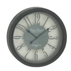 Benzara Splendid And Stylish Metal Wall Clock