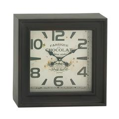 Classy Square Shaped Metal Wall Clock