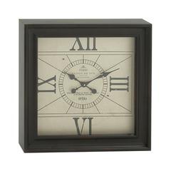 Splendid Metal Square Wall Clock