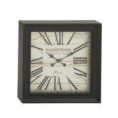 Benzara Marvelous Metal Square Wall Clock