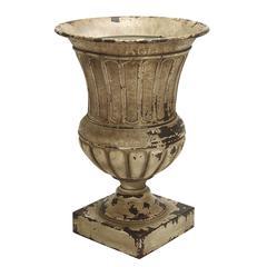 """Benzara Metal Planter Vase 26""""H, 18""""W Patio Accents"""