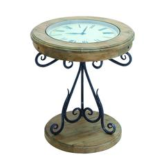Table Clock With Innovative Pattern And Elegant Curves