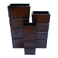 Planter Modern Design And Smooth Finish - Set Of 3
