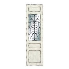Irish White Coppice Metal Wall Panel