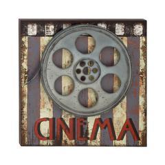 Ravishing Wood Metal Movie Plaque