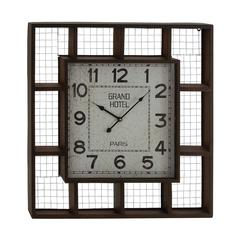 Elegant Styled Creative Metal Wall Clock