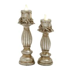 Set Of 2 Thrilling Led Candle Light