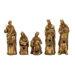 Impressive Set Of 5 Nativity