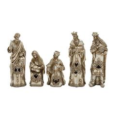 Benzara Striking Set Of 5 Nativity