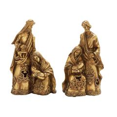 2 Assorted Holy Family Figurines