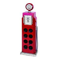 Gas Pump Wine Rack For Modern And Conventional Decor