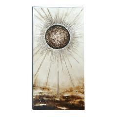 Benzara Gorgeous Sun Painting With An Inspiring Style
