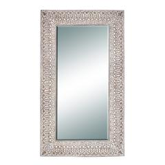 Benzara 86 Inches High Polyurethane Frame Mirror