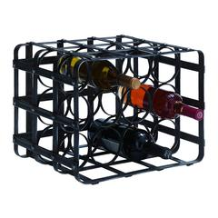 Metal Wine Rack Bold Style Statement