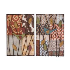 Benzara Artistic Styled Metal Wall Décor Assorted