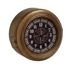 Benzara Unique And Classy Metal Wall Storage Clock
