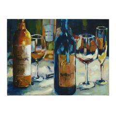 Benzara Jiu (Wine) Canvas Art