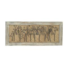 "Benzara Scenery Wood Metal Wall Decor 36""W, 15""H"
