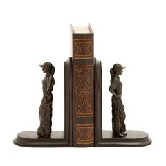 Elegant And Stylish Golfer Themed Bookends