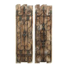 Enchanting Wooded Gate Wall Plaque