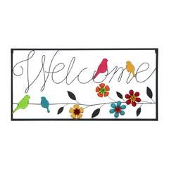 Wall Sign With Modern Or Casual Style And Simple Frame
