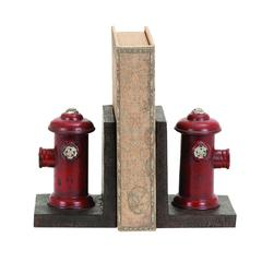 Vintage Fire Hydrant Themed Book Ends