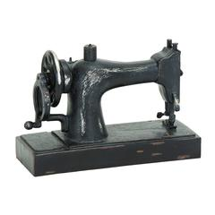 Industrial Age Sewing Machine Décor