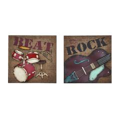 Musical Rock And Roll Instrument Wall Décor
