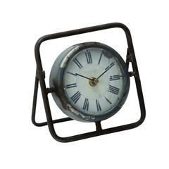 Benzara Beautiful Metal Clock With Dark Frame