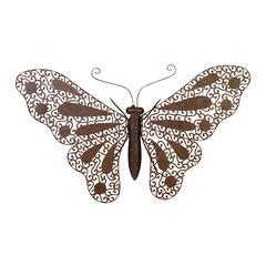 Benzara Metal Butterfly Nature Fresh Decor