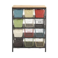 Sturdy Metal Wood Storage Rack