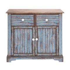 Benzara The Aged But Beautiful Wood Cabinet