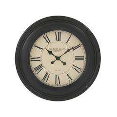 "Marvelous Wood Wall Clock 24""D"