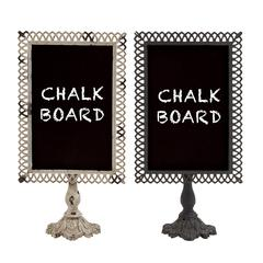 Fascinating Styled Metal Blackboard 2 Assorted
