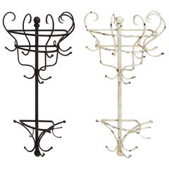 Benzara Wonderful Styled Metal Wall Coat Rack 2 Assorted